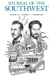 Cover of the Summer 2020 issue of the Journal of the Southwest